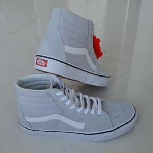 Vans Shoes - VANS SK8-HI GRAY DAWN WHITE SNEAKER SHOES CANVAS